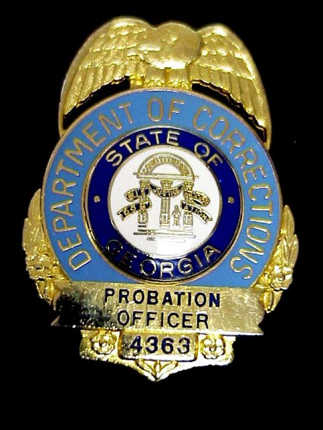 Corrections department probation