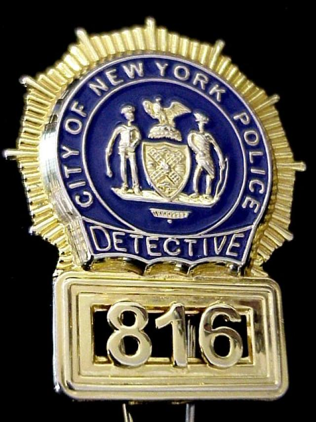 United Insignia Nypd Detective Shield Ring
