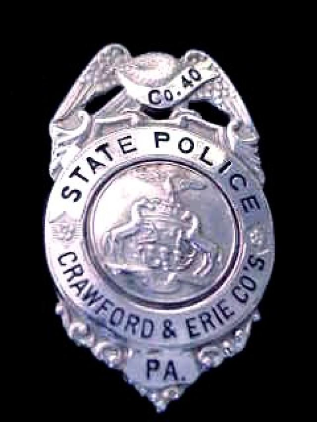 Collector S Badges State Police Badges
